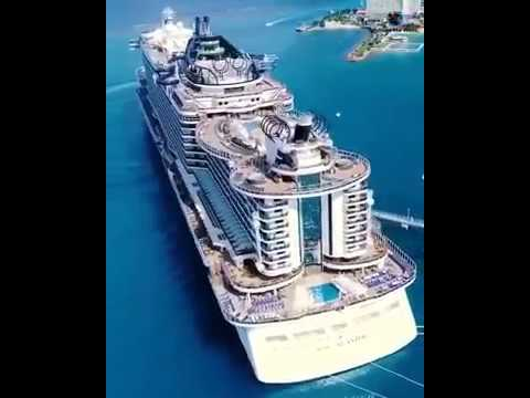 Amazing || Ship or integrated city|| Miami   USA