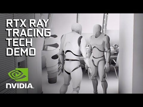 NVIDIA RTX and GameWorks Ray Tracing Technology Demonstration