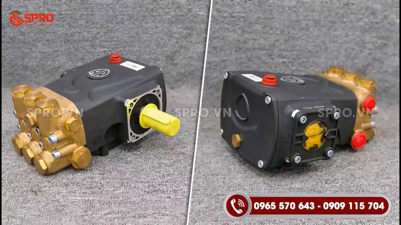 Máy bơm nước rửa xe áp lực cao (ý) | Nối khớp Xích| Spro.vn