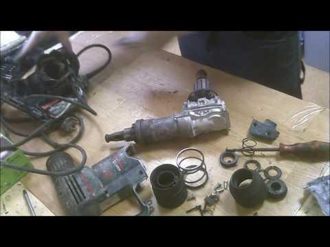 Bosch power tools disassemble Bosch demolition hammer repair GSH 3 E disassemble