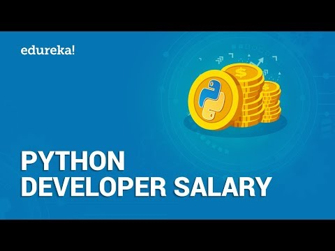 Python Developer Salary | Average Salary Of A Python Developer In India And US | Edureka