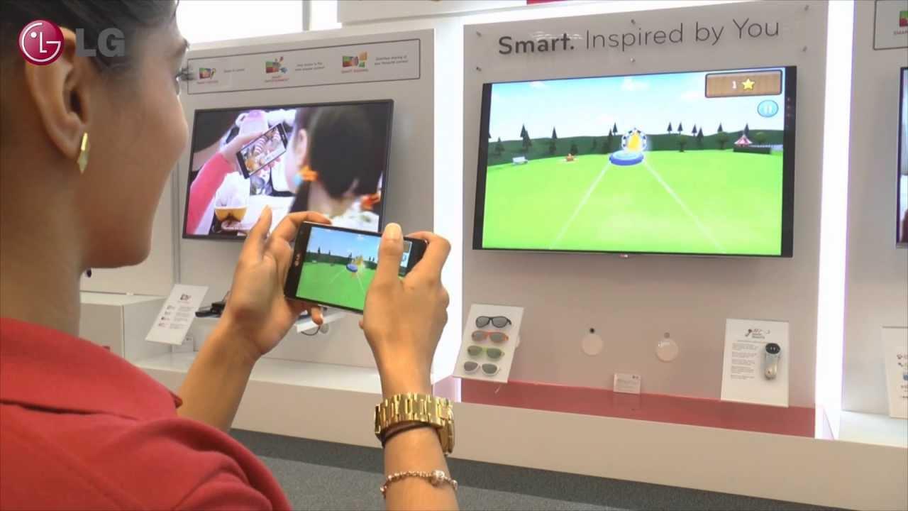 LG Smart TV - Miracast