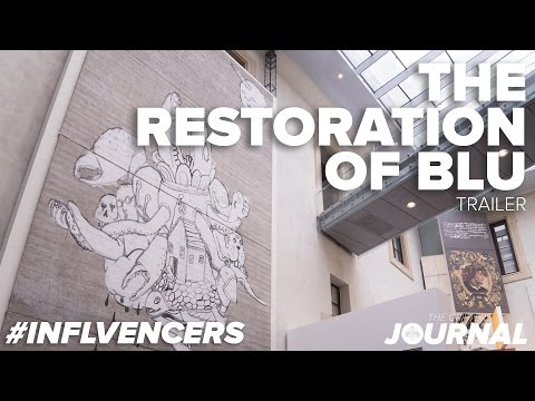 #INFLVENCERS: The Restoration of Blu | Street Art Banksy & Co. | Bologna (TRAILER)