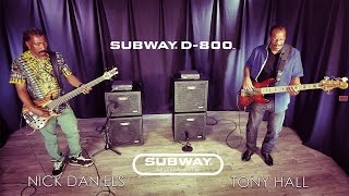 MESA® Subway® D-800™ and Ultra-Lite 1x12 & 1x15 – Dumpstaphunk
