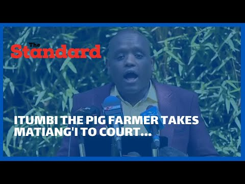 Dennis Itumbi makes good his threat, sues CS Matiang'i over Ksh1.5 billion Ruaraka land scandal