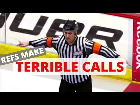 Refs make TERRIBLE Calls  (NHL 15 Clips)