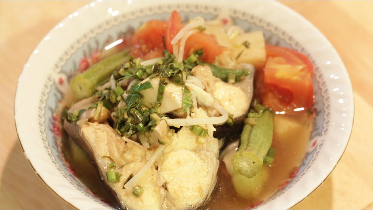 How to make vietnamese sweet and sour fish soup canh for How to make fish soup