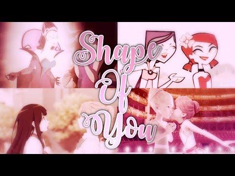 Shape Of You --- Crossover/Au Mep