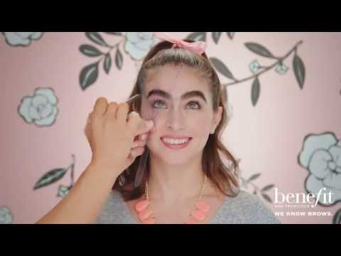 Benefit Instant Brow Wax Transformation - YouTube