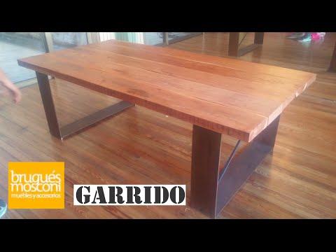 Cómo construir una mesa de comedor - YouTube