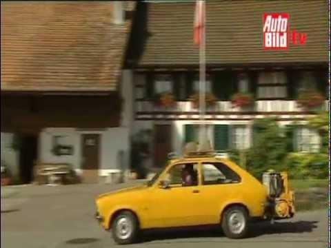 Atemberaubend Opel Kadett bj. 1975 mit Holzvergaser - YouTube @LF_01