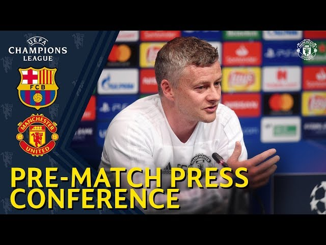 Manager's Press Conference | FC Barcelona v Manchester United | Ole Gunnar Solskjaer & Diogo Dalot