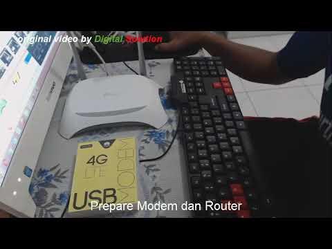 Konfigurasi Dan Kolaborasi TP-Link MR3420 Dan Huawei E3276