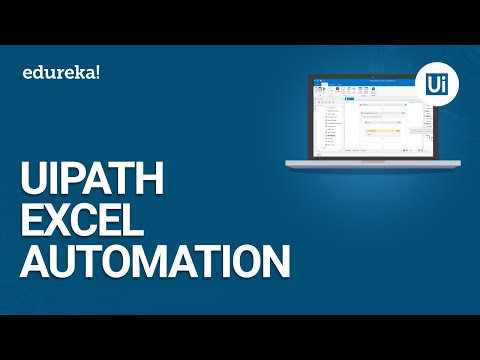 UiPath Excel Automation | UiPath Excel Activities | UiPath Training Essentials | Edureka