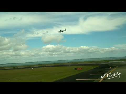 Auckland Airport ニュージーランド航空にてオークランド空港より出発taken off from AKL by Air New Zealand to SYD