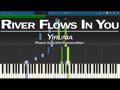 Yiruma - River Flows In You (Piano Cover) LittleTranscriber Version