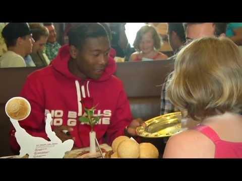 Promi-Frühstück mit David Alaba