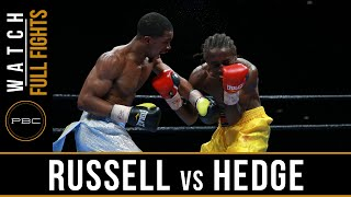 Russell vs Hedge FULL FIGHT: June 28, 2016 - PBC on FS1