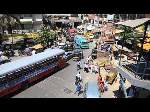 Mumbai Traffic Chaos - Near Andheri Station