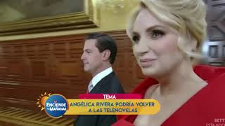 ANGELICA RIVERA PODRÍA REGRESAR A LA TV
