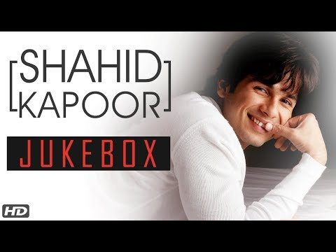 Shahid Kapoor Songs Jukebox | Happy Birthday Shahid Kapoor | Romantic Love Songs Collection