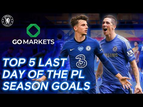 Top 5 Last Day Of The Premier League Season Goals ft. Mount, Torres, Cole & More
