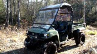 John Deere Gator 620I XUV REVIEW TEST DRIVE