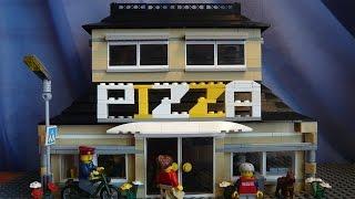 LEGO САМОДЕЛКА #10 | Пиццерия / Pizzeria(Как построить пиццерию из лего? Если вы восхитительный строитель и проектируете свой лего-город, то вы попа..., 2015-06-08T14:55:44.000Z)