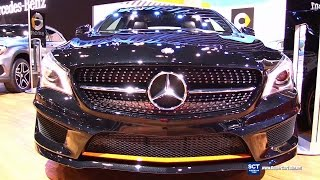 2016 Mercedes-Benz CLA-Class CLA 250 4Matic - Exterior and Interior Walkaround - 2015 LA Auto Show