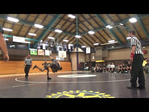 MHS Wrestling Duals Vs. Lassen High School, 12-4-19, Ground View