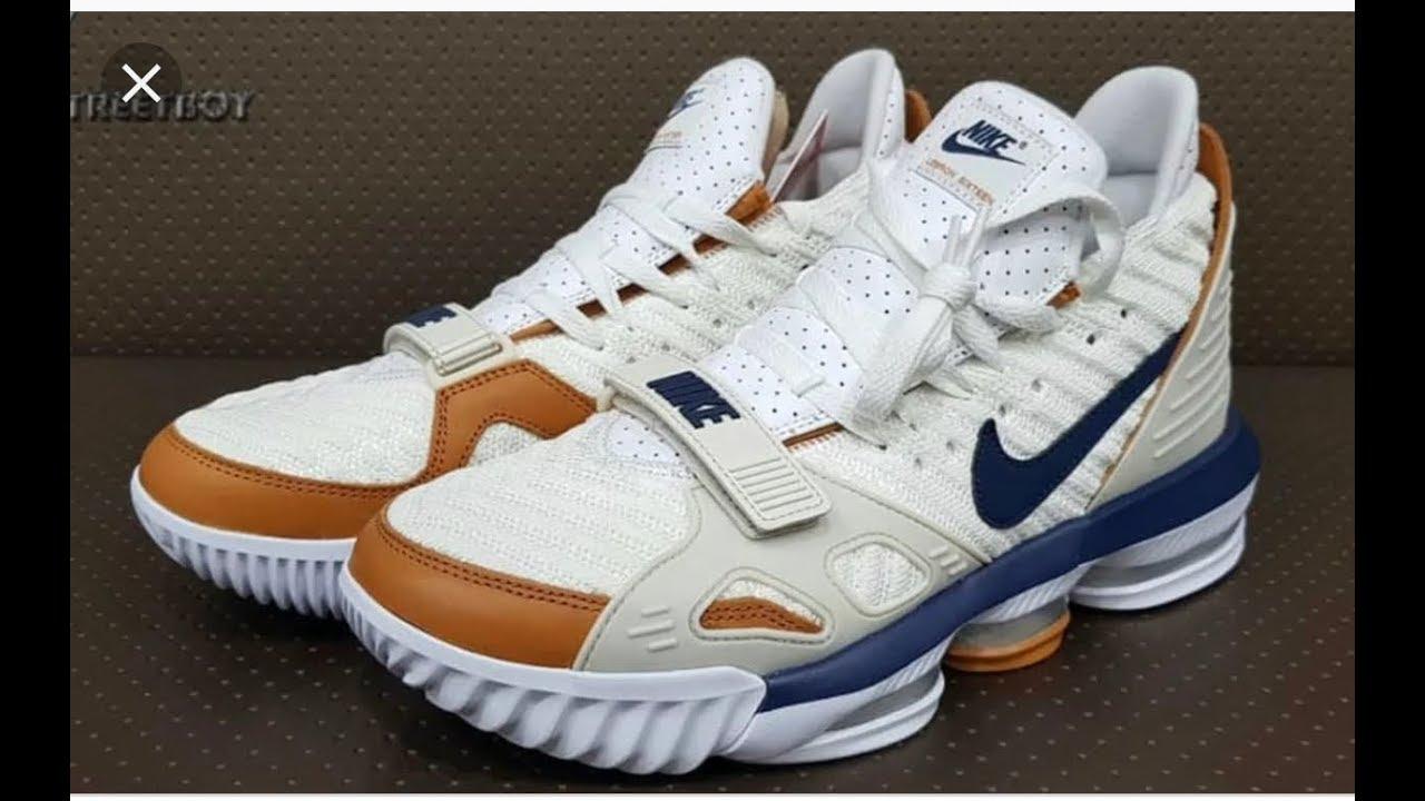 "Nike Lebron 16 ""Bo Trainer"" ""medicine"