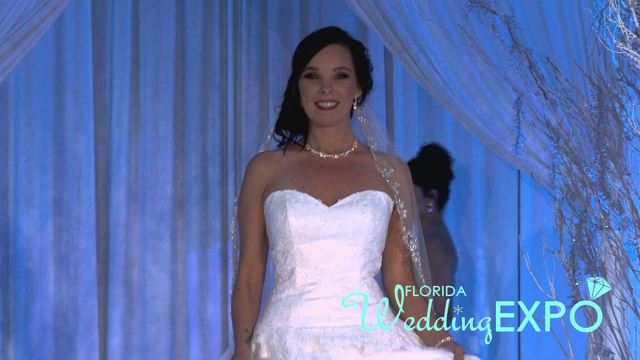 Florida Wedding Expo Fashion Show-Orlando - Sira D Pion Jan 16 - YouTube