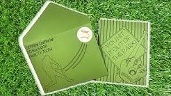 Postage Stamp Inspired: Baseball
