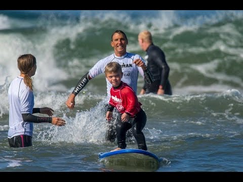 IRONMAN Foundation 2017 Junior Seau Adaptive Youth Surf Clinic Presented by CAF