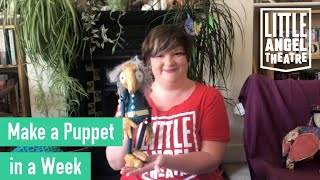 Make a Puppet iฑ a Week I Day One I Activities for Children