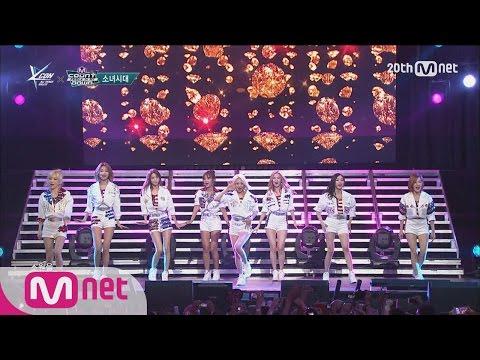 Girls′ Generation(소녀시대) - 'Genie' M COUNTDOWN - FEELZ in NY 150815 EP.438