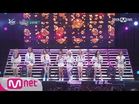 Girls′ Generation(소녀시대) - 'Genie' M COUNTDOWN - FEELZ in NY 150815 EP.438