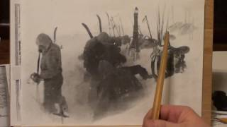 "Тур. группа Дятлова, "" Последняя ночёвка"". Часть 1."