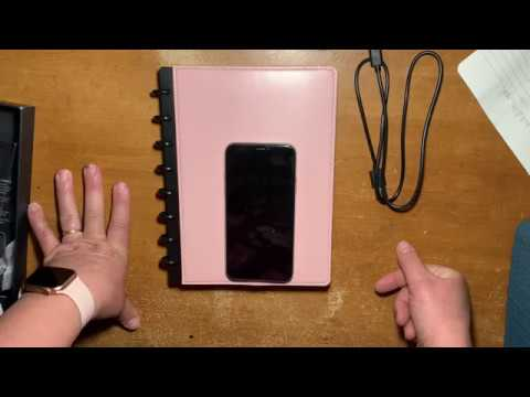 Disc Bound Wireless Phone Charging TUL Notebook Unboxing And First Impression Review