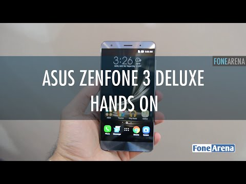 Asus Zenfone 3 Deluxe Hands On