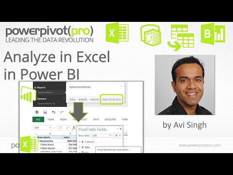 Analyze In Excel in Power BI: Most exciting #MSDataSummit Announcement