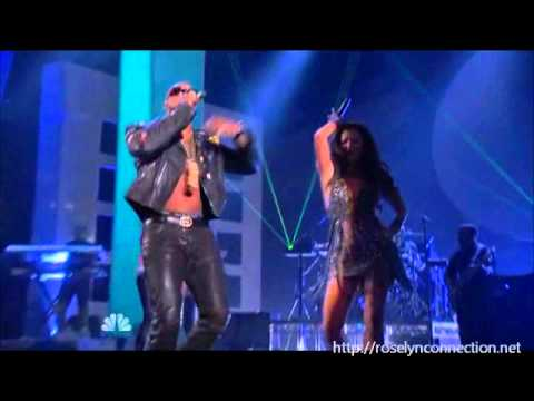 "Roselyn Sanchez and Flo Rida ""I Cry"" (Alma Awards 2012)"