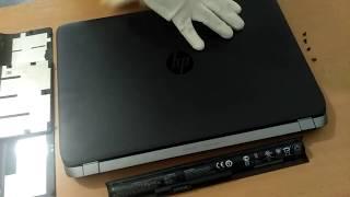 HP ProBook 450 G2 - odpojení klávesnice