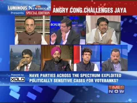 The Newshour Debate: Scramble to free Rajiv Gandhi's assassins - Part 2 (19th Feb 2014)