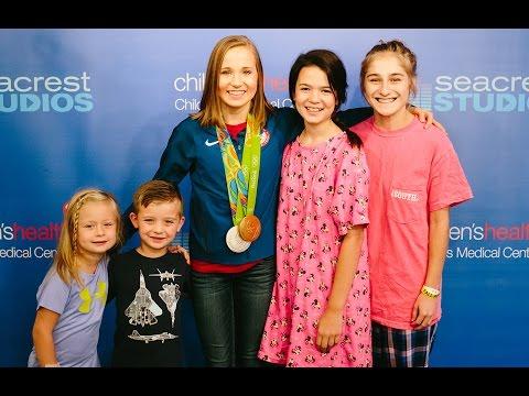 Madison Kocian Vists Seacrest Studios - USA Gymnastics