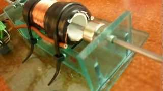 silnik elektryczny tłokowy neodymowy the electric motor neodymium piston