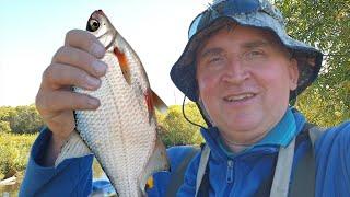 Рыбалка на реке Мурин притоке Куды часть 1