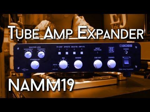 BOSS Tube Amp Expander - I take a look at NAMM '19
