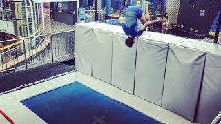 Родной зал / Крутые гимнасты на БАТУТЕ / Едем в KANGO / Соревнование с Олимпийским призером