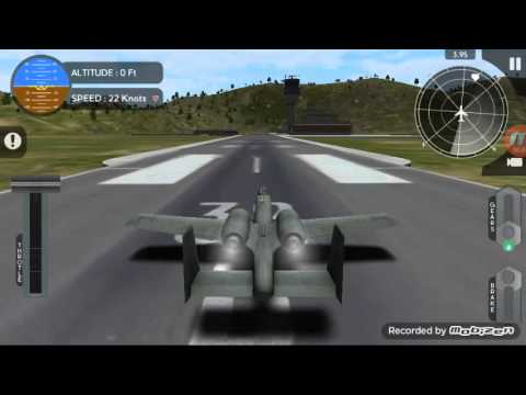 avion flight simulator a10 under the radar youtube